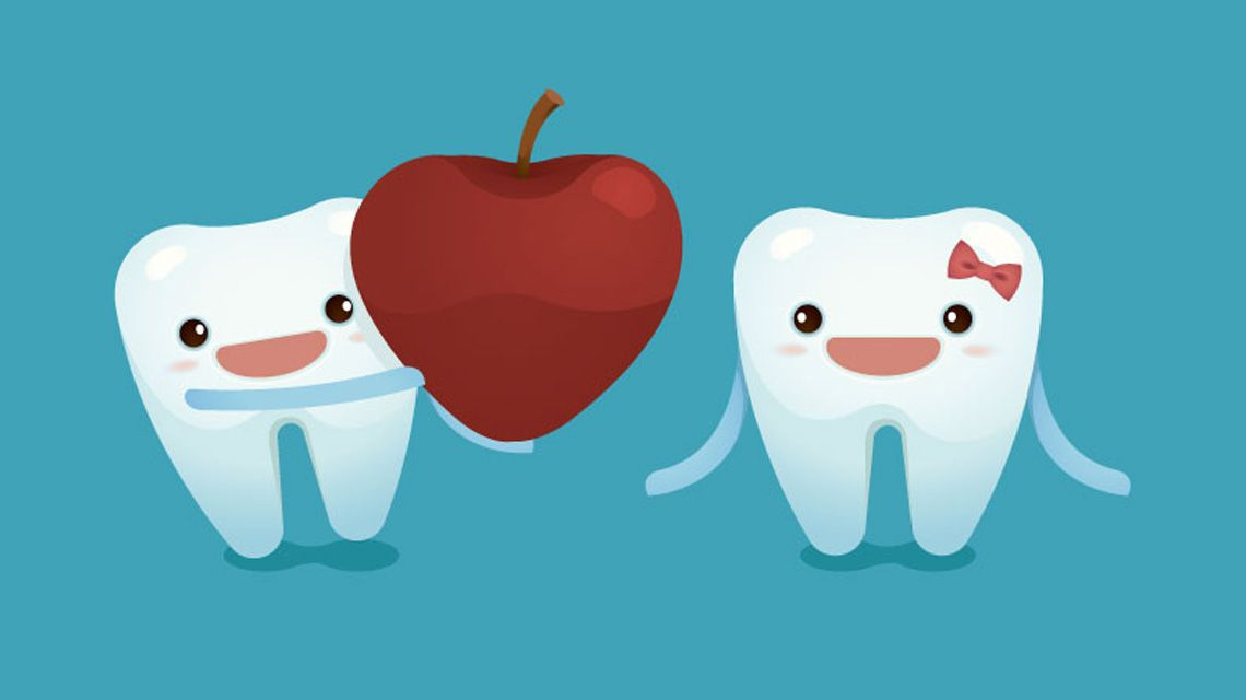 رابطه تغذیه و سلامت دندان | چه نوع تغذیه ای برای سلامت دندان مناسب است؟